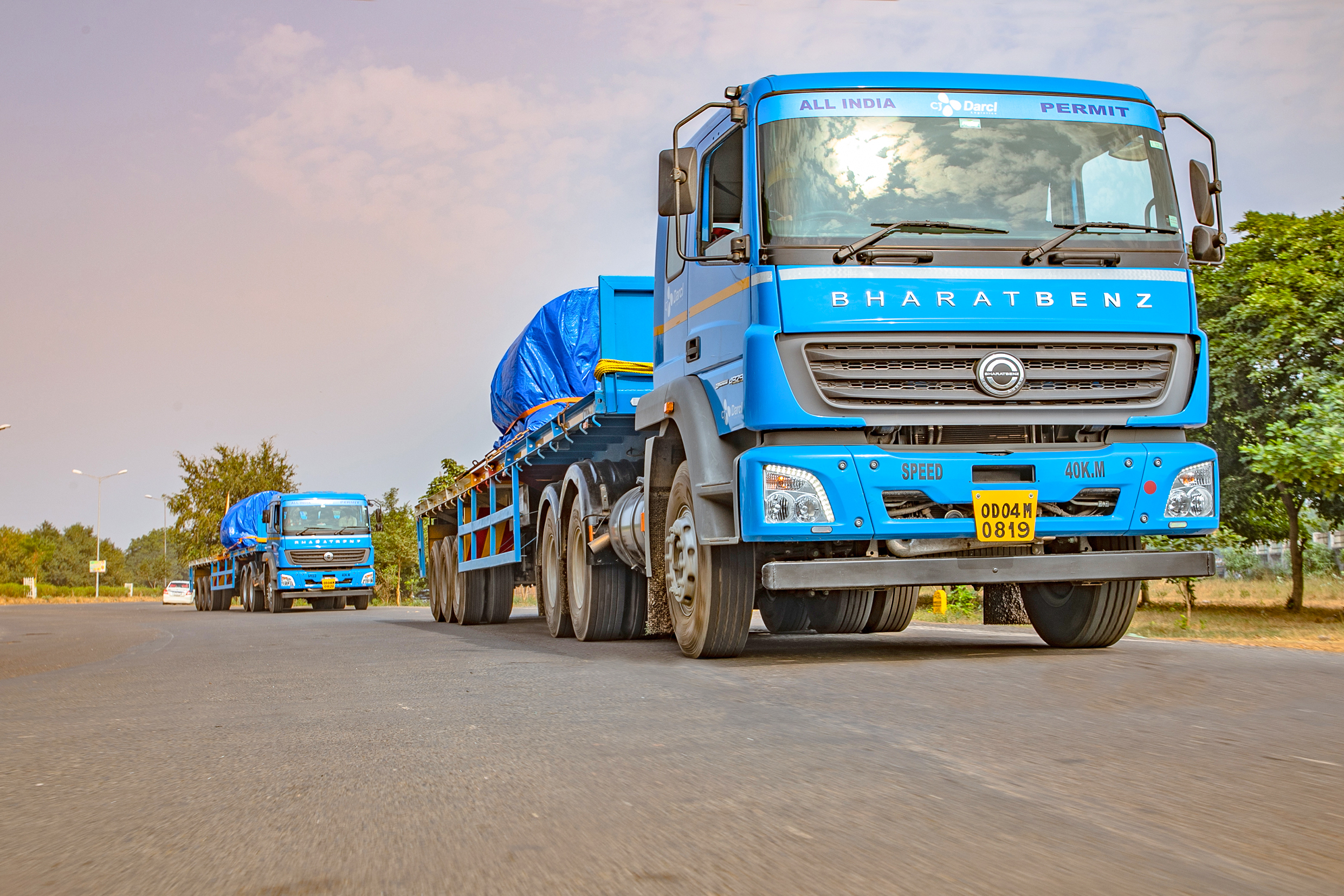CJ Darcl Logistics bets big on BharatBenz