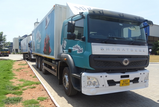 Milky Mist and Bharatbenz 'Quantum of Solace'