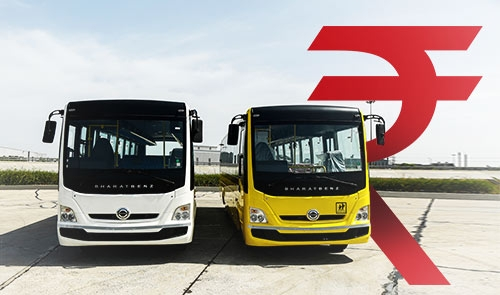 Commercial Buses, Tourist Bus, Bharat Benz Bus Manufacturers
