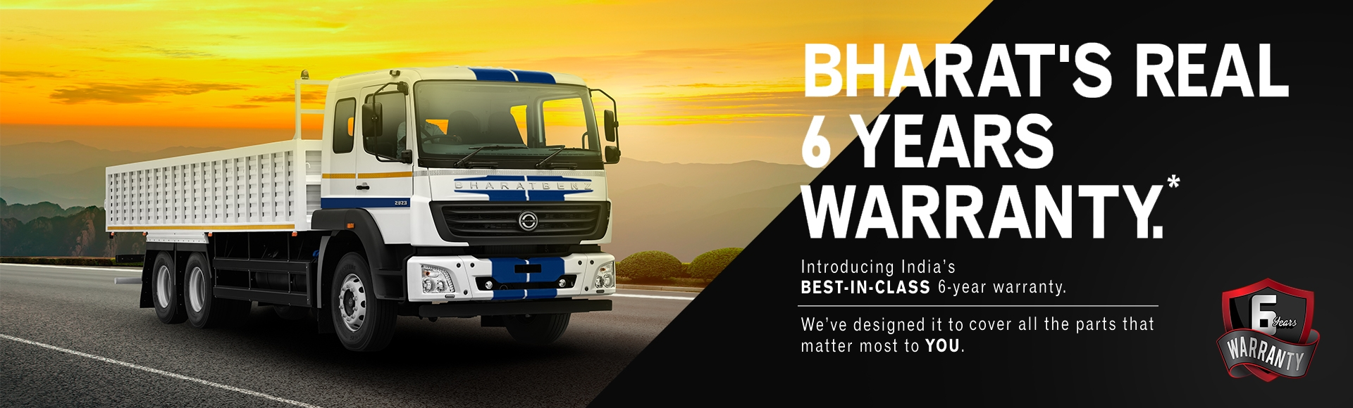 Bharat's Real 6 Years Warranty