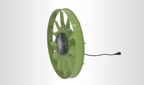 E-viscous Fan
